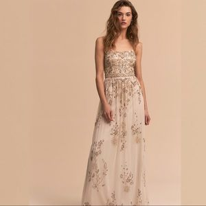 BHLDN x Adrianna Papell  Mason Dress NWT